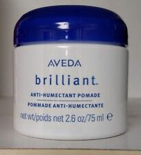 Aveda BRILLIANT ANTI-HUMECTANT Pomade 2.6 oz / 75 ml NEW  Fresh Stock