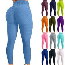 Plus Size Mulheres Push-up Leggings calças de Yoga cintura alta Fitness Esportes Stretch
