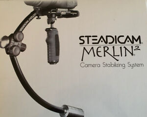 STEADICAM MERLIN 2 CAMERA STABILIZING SYSTEM WITH CASE