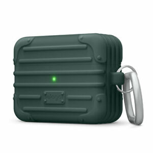 Airpods Pro Case Elago Rugged Cover Travel Protective Shockproof Premium Green