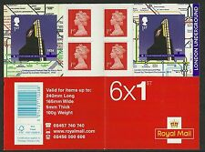 Mint Never Hinged/MNH British Stamp Booklets
