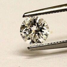 GIA loose certified .88ct SI2 E round brilliant diamond round vintage estate