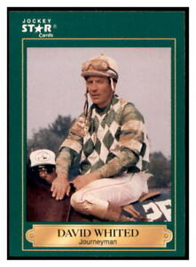1991 Horse Star Jockey Cards David Whited #205