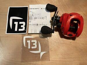 13 Concept Z Zero 7.3 LH Fishing Reel NEW!!! - No Box - FREE SHIPPING!!!