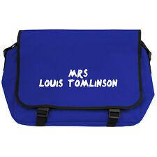 Mrs Louis Tomlinson azul real BANDOLERA MOCHILA ESCOLAR DIRECTIONERS CHICA FAN