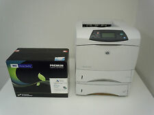 Q1339A NEW SEALED COMP HP 39A TONER+Q2434A HP LASERJET 4300 DTN PRINTER+WARRANTY