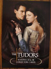 THE TUDORS SEASONS 1, 2 & 3: PROMO CARD: UK PROM CARD
