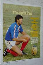 EQUIPE MAGAZINE N°184 1984 TRAENHARDT LESCARBOURA FOOTBALL FRANCE-ENGLAND QUINON