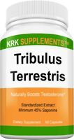 1 Bottle Tribulus Terrestris 1000mg per serving 90 Capsules KRK Supplements