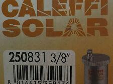 "CALEFFI 250831 Valvola automatica di sfogo aria per impianti solari 3/8"" M"