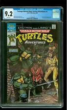 Teenage Mutant Ninja Turtles Adventures 1 CGC 9.2 NM- 1st Krang Bebop Rocksteady
