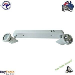 2 Light Bar Spotlight 12 Volt Directional Ceiling Light White Sonic Oriel