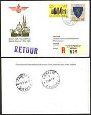 Cover Liechtenstein Stamps
