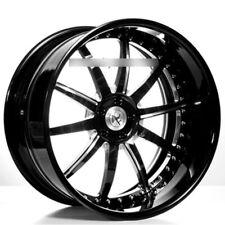 "4ea 24"" AC Forged Wheels Rims AC320 Black 3 pcs (S1)"