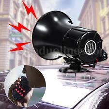 12V 100W Car Motorcycle Truck 7 Sound Loud Speaker Warning Alarm Horn Siren Bell