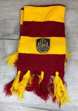 Harry Potter Draco Scarf Dormiens Nunqaum Titillandus Red Yellow