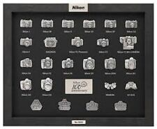 Nikon Camera 100th Anniversary Limited Edition Pin Collection Set of 25 MIB!