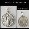 SAN BENITO PLATA  DE LEY MEDALLA SAN BENITO  SAN BENITO SILVER OF MEDAL LAW SAN