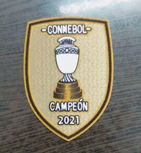 CONMEBOL 2021 Campeón jersey patch - Argentina