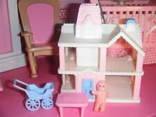 Playskool Dollhouse Miniature Replica of the Victorian Dollhouse Accessories Lot