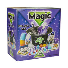 Deluxe Magicians Hat Magic Set 150 Tricks Kids Children Play Toys Game Illusions