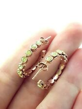 Turkish jewelry Handmade 925 Sterling Silver Rose Gold Plt Jonquil Fancy Earring