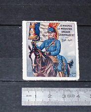 DELANDRE CINDERELLA 1915 TIMBRE VIGNETTE GUERRE 14-18 6e REGIMENT WWI