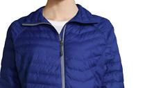 Womens Columbia Oyanta Trail Thermal Coil® Puffer Jacket Dynasty Blue SizeM Coat