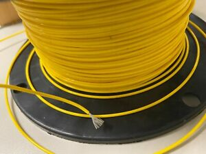 Wire Mil-Spec (PTFE) 22 AWG Stranded 25 ft yellow