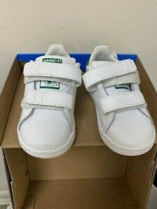 Adidas Stan Smith Kids White/Green BZ0520