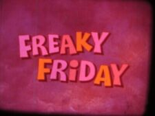 "16mm feature Disney's Jodie Foster "" Freaky Friday ""  VG original print"