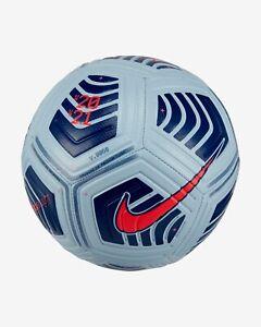 FOOTBALL NIKE STRIKE NEW 2021 MATCH QUALITY SIZE 3 SKY BLUE/ DARK BLUE
