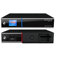 GigaBlue UHD UE 4K TWIN LINUX TV Receiver mit Hybrid Eigenschaft 2x DVB-S2 FBC