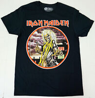 IRON MAIDEN T-shirt KILLERS Album Cover Distressed Licensed GLOBAL Tee New
