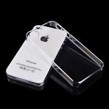 IPhone 4 4 s Rigide Clair Transparent Mince Cover Housse Coque Slim Coque/étui