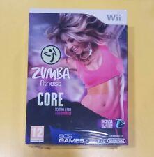 Zumba Fitness Core + Cintura GIOCO WII VERSIONE ITALIANA NUOVO