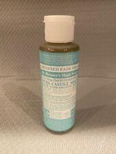DR. BRONNER'S MAGIC BABY MILD PURE CASTILE ORGANIC OIL SOAP 4 OZ  FSTSHP