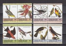 TIMBRE STAMP 8 ILE UNION GRENADINES Y&T# OISEAU BIRD NEUF**/MNH-MINT 1984 ~B44