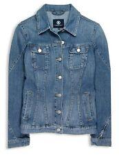 BOGNER Damen Jeansjacke Size 36 stone blue Denim Stretch Jeans Jacke
