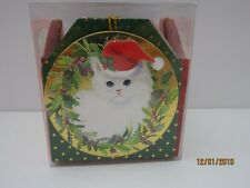 Punch Studio 3D Cat Embellished Gift Tags Cube of 16 Nib