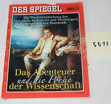 Der Spiegel Das Abenteuer und die Poesie der Wissenschaft Heft von 2004 Nr. 5512