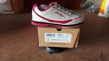 KR Strikeforce Women's Curve White/Scarlet Paisley Bowling Shoes Size 7