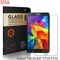 9H Clear Premium Tempered Glass Screen Protector for Samsung Galaxy Tab S2 8.0