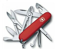 Swiss Army Knife, Red Deluxe Tinker, 91mm, Victorinox 53481, New In Box
