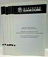 Nintendo GameCube GC Trilingual Health & Safety Precautions Booklet NO MODEL #