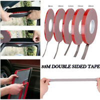 33M Strong Permanent Double-Sided Adhesive Glue Tape Super Sticky for Car Led