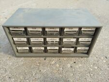 Bush Lake Tool Amp Plastics 15 Drawer Parts Organizer With Small Hardware Included