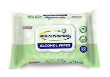 Germisept Multi-Purpose Alcohol Wipes Mad w Plant Based 75% Alcohol (1 Pk 50cont