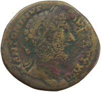 ROME EMPIRE SESTERTIUS ANTONINUS PIUS #s43 051