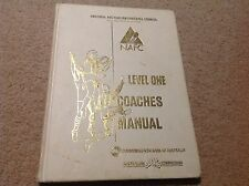 AFL COACHES MANUAL TRAINING OFFICIAL BOOK FULL OF INFORMATION BEST SELLER